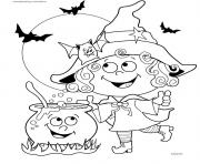 Print halloween with coloring pages