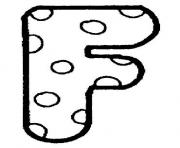 Print bubble letter f coloring pages