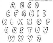bubble letters scratch bash coloring pages