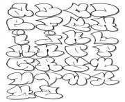 tagging alphabet bubble letters coloring pages