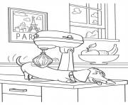 buddy is relaxing secret life of pets coloring pages
