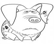 bacon ham secret life of pets coloring pages