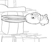 snowball secret life of pets coloring pages