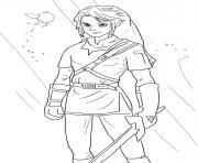 Printable link from legend of zelda coloring pages