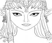 legend of zelda twilight princess coloring pages