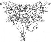 Printable believix stella winx club coloring pages