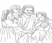 Print jesus loves all the children coloring pages