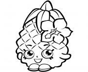 Fruit Pineapple shopkins season 1