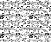 Print Pattern Printable coloring pages