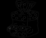 Print Bread Head from Season 1 shopkins season 1 coloring pages