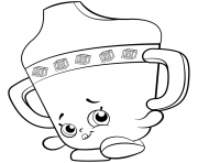 Printable Baby Sippy Sips shopkins season 2 coloring pages