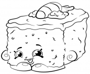 Printable Bakery Carrie Carrot Cake shopkins season 2 coloring pages
