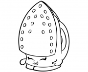 Printable Iron Sizzles shopkins season 2 coloring pages
