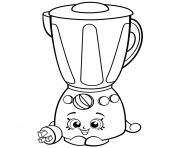 Printable Brenda Blender from Homewares shopkins season 2 coloring pages