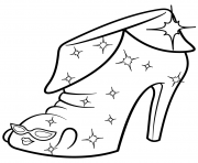 Printable Limited Edition Angie Ankle Boot shopkins season 2 coloring pages