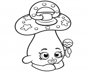 Printable Baby Peacekeeper Dum Mee Mee shopkins season 2 coloring pages