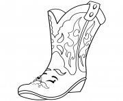 Printable Cool Betty Boot shopkins season 2 coloring pages