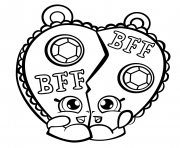 Printable Chelsea Charm shopkins season 3 coloring pages