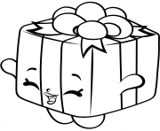 Printable Gift Box shopkins season 4 coloring pages