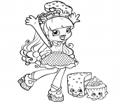 shopkins shoppie is happy cupecake coloring pages