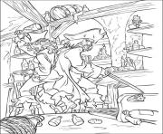 Print pirates in their room pirates of the caribbean coloring pages