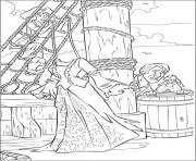 Print they see ghost pirates of the caribbean coloring pages