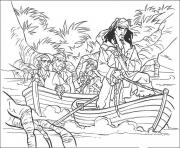 Print jack is riding a vessel pirates of the caribbean coloring pages
