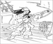 Print jack want to see something pirates of the caribbean coloring pages