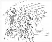 Printable they find a map pirates of the caribbean coloring pages