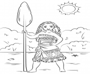 Printable princess moana disney  coloring pages