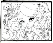 Printable happy lisa frank cute coloring pages