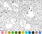 Printable Difficult Coloring Pages With Numbers Az coloring pages