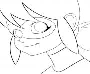 Print miraculous ladybug smile coloring pages