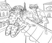 miraculous ladybug and chat noir season 2 Coloring pages Printable