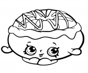 Printable chrissy cream from shopkins chef club coloring pages