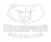 memphis grizzlies coloring pages - photo#12