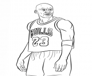 michael jordan nba sport coloring pages