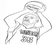 NBA Coloring Pages Free Printable