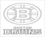 bruins coloring pages - photo#19