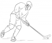 hockey player nhl hockey sport coloring pages - Coloring Pages Hockey Players Nhl
