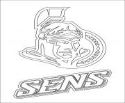 ottawa senators logo nhl hockey sport
