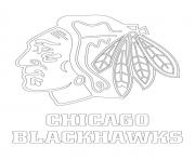 chicago blackhawks logo nhl hockey sport1 coloring pages