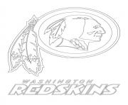 washington redskins logo football sport
