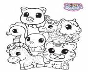 Print Squinkies for Babies coloring pages