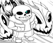 cool undertale by aoshi7  coloring pages