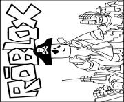 roblox pirate coloring pages