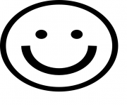 Print smile emoji 3 coloring pages