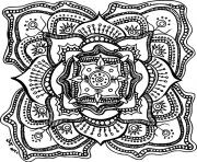 halloween adult mandala coloring pages