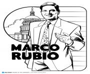Print marco rubio coloring pages