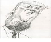 donald trump face 2 coloring pages